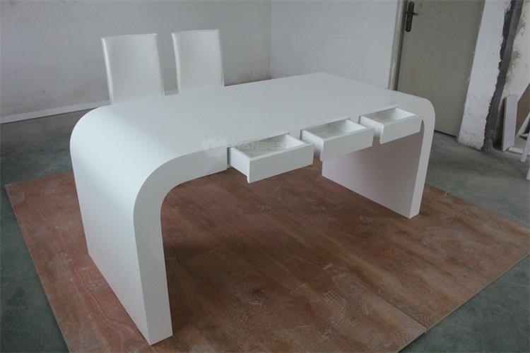 New Design White Personal Small Office Desk Furnitu