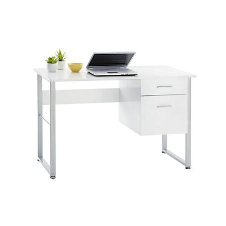 Realspace Brenton Halton Desk White - Office Dep