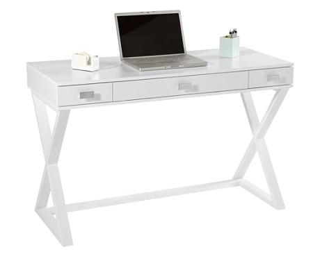 See Jane Work Kate Writing Desk White - Office Dep