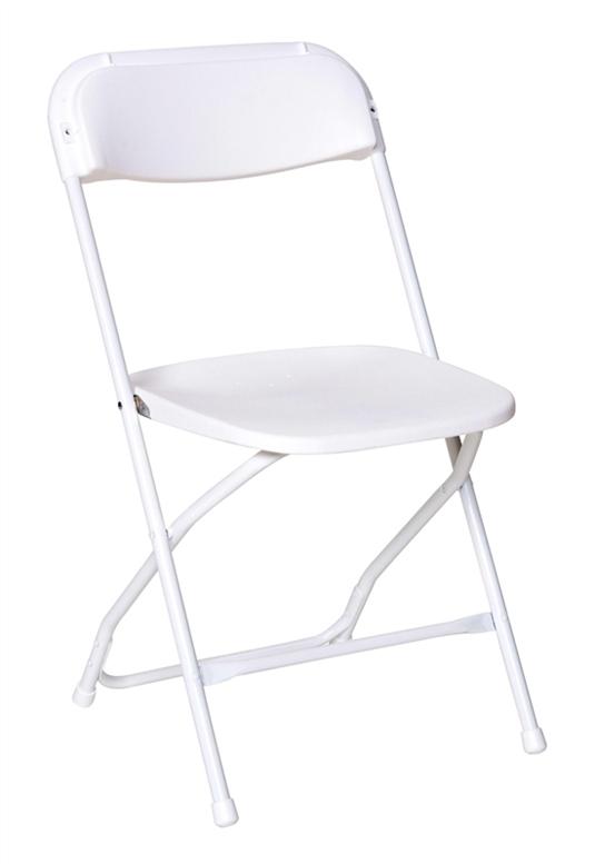 Free Shipping WHITE PLASTIC Folding Chairs | Miami Plastic Folding .