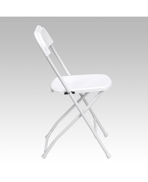 Flash Furniture Hercules Series 650 Lb. Capacity Premium White .