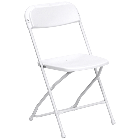Plastic Folding Chair - Pacific Party Renta