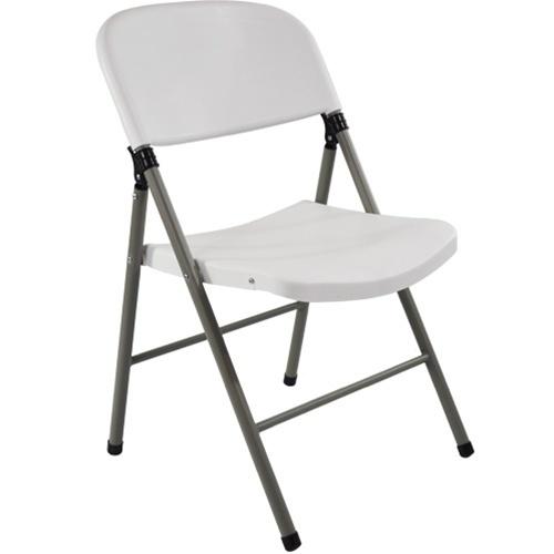 Oversized White Plastic Folding Chairs | Extra Strength Plastic .