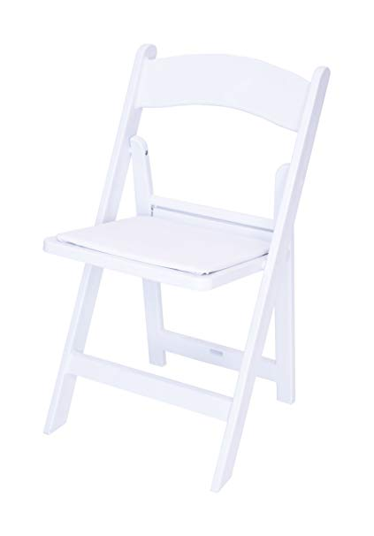 White Resin Folding Chair | Action Equipment & Event Renta