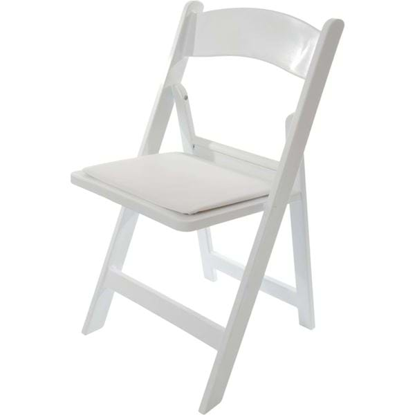 White Resin Folding Chairs | National Event Supp