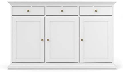 Amazon.com - Tvilum Sonoma Sideboard with 3 Doors and 3 Drawers .