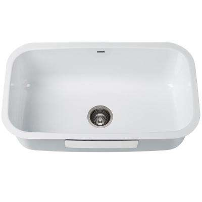White - Undermount Kitchen Sinks - Kitchen Sinks - The Home Dep