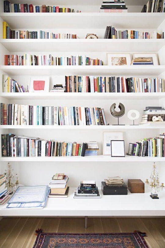 How to Style a Bookshelf | Bookshelves, Wall mounted shelves, Interi