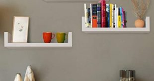 White Wall Mounted Shelves: Amazon.c