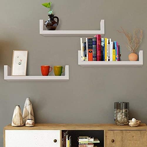 White Wall Mounted Shelves