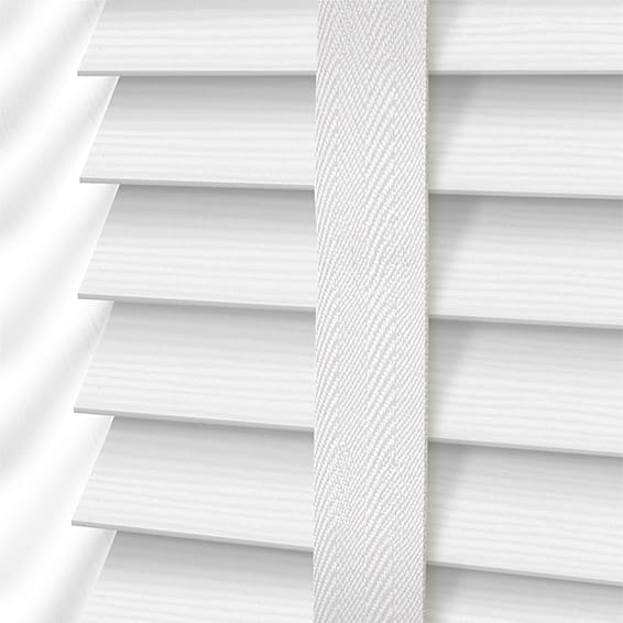 Decoration Ideas Using White Wood Blinds - Decorifus