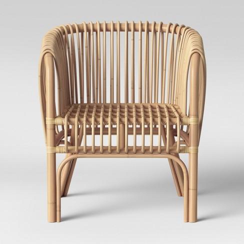 Isabella Rattan Barrel Arm Chair - Opalhouse™ : Targ