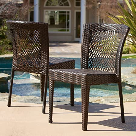 Amazon.com : Best Selling Dawn Outdoor Wicker Chairs, Set of 2 .