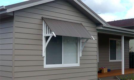 window awnings exterior | Simple heritage window awning | Diy .