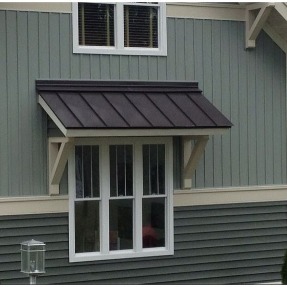 exterior window awning for mobile home: | Metal awnings for .