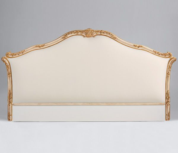 headboard - upholstered headboard - 18th-century Roman style .
