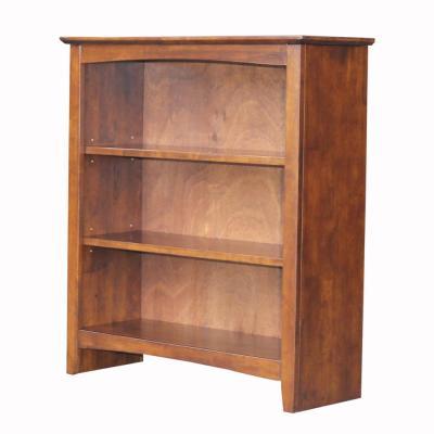 International Concepts 36 in. Espresso Wood 3-shelf Standard .