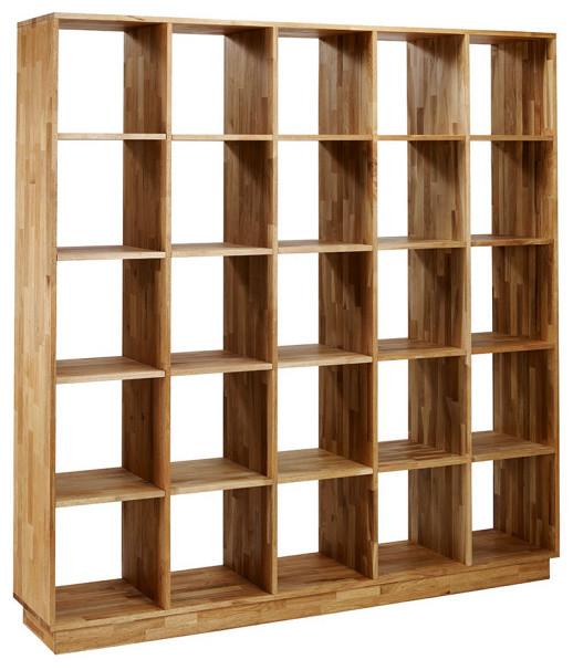 Mash Lax Solid Wood Large Modern Bookshelf - Modern - Bookcases .