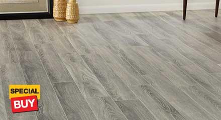 White - No Underlayment - Laminate Wood Flooring - Laminate .