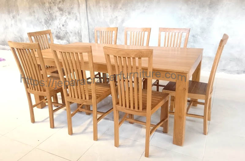 Teak indoor dining chairs furniture supplier and exporte