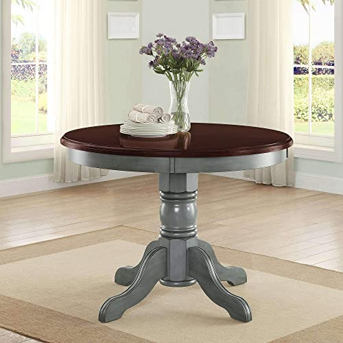 Round Wood Dining Table: Amazon.c