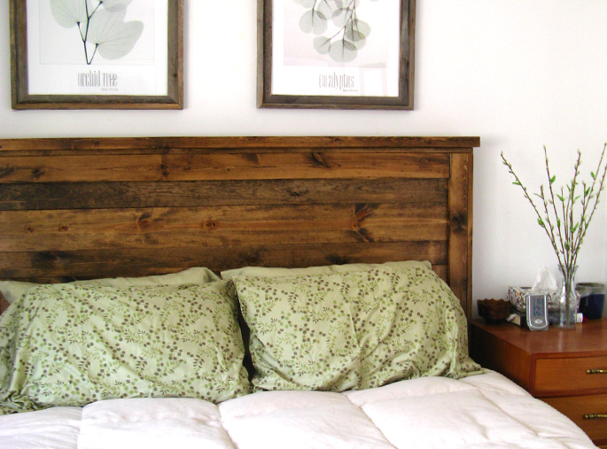 15 Ideas and Secrets For Making DIY Wooden Headboards Look .