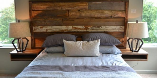 20 Beds With Beautiful Wooden Headboards | Reclaimed wood .