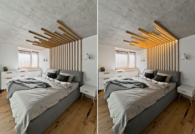 Illuminating Wooden Headboards : wooden headboa