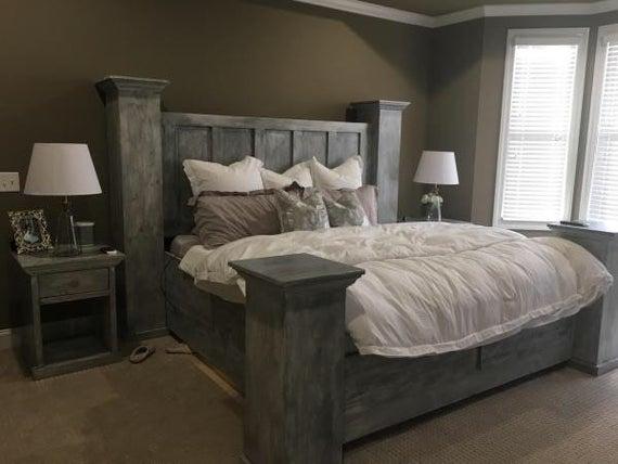 Solid wood king size bed frame Built to last a lifetime. | Et