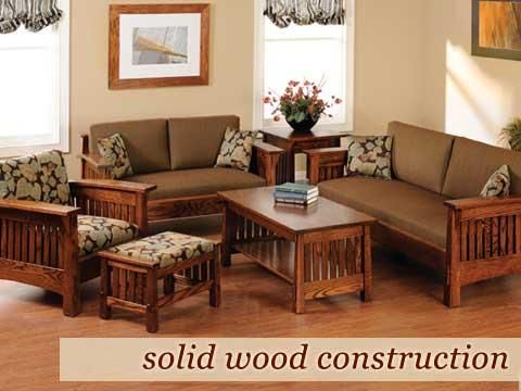 Amish Furniture | Custom Solid Wood Oak Maple Cherry Furniture .