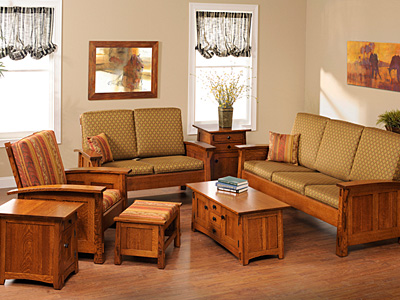USA Made Living Room Furniture | Solid Wood Living Room Furniture .