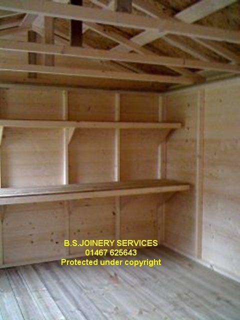shelving for shed | shed - sheds - wooden sheds - garden sheds .