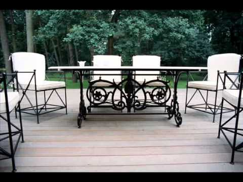 Wrought Iron Patio Furniture Jacksonville Cast Iron Furniture .