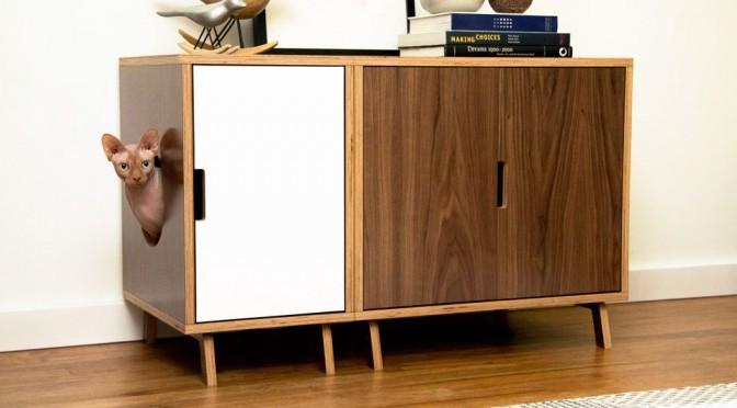 Mid century pet furniture