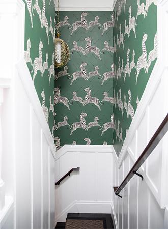 Wallpaper cheap decoration ideas