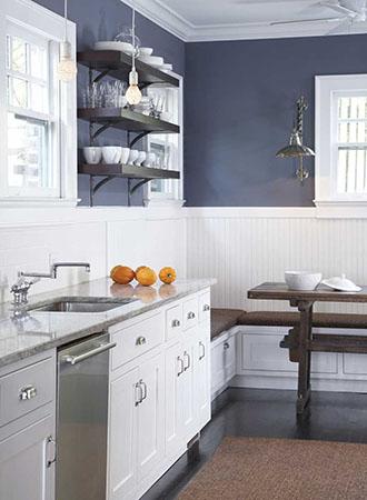 Flat-woven kitchen carpet ideas