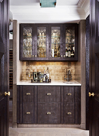 Wood Home Bar Ideas