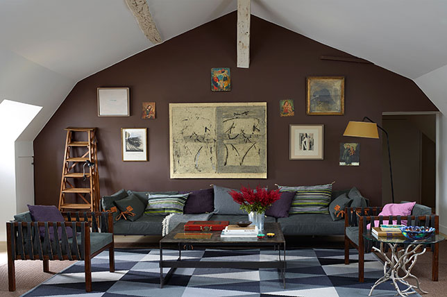 Accent wall small living room ideas