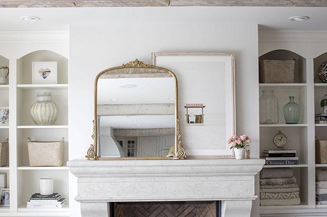 small living room ideas mirror