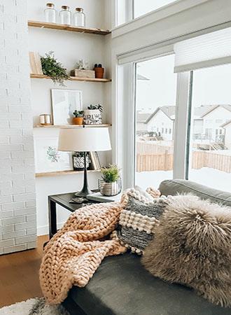 Shelf small living room ideas