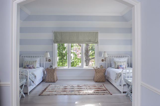 sky blue beach house decor ideas