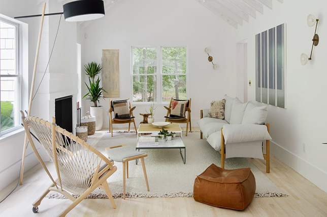 Furniture for Scandinavian beach house decor ideas
