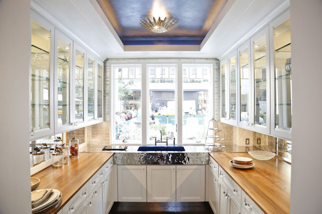 How to make a kitchen look bigger
