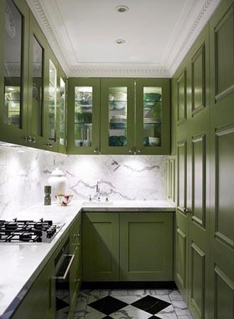 Closet small kitchen ideas