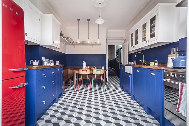 colorful little kitchen ideas