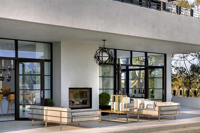 modern covered terrace ideas