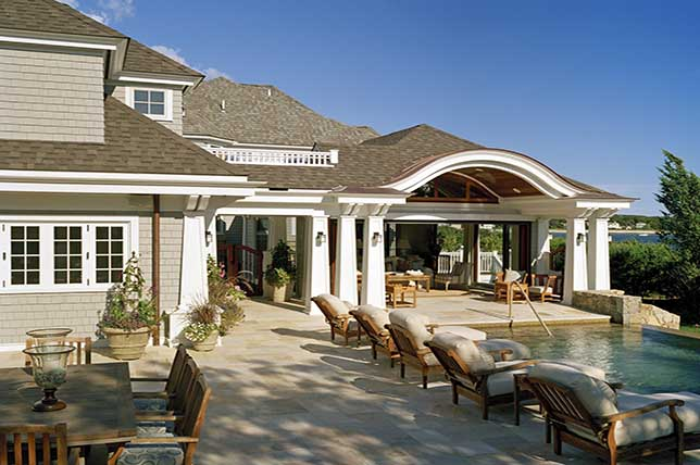 Seating covered patio ideas
