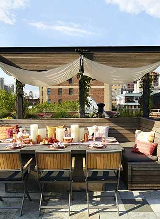 inspiring roofed terrace ideas