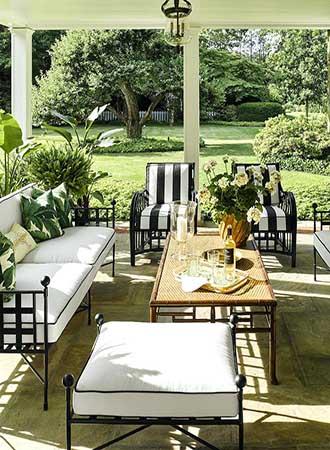 elegant covered terrace ideas