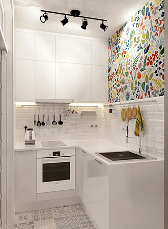 bright floral cool wallpaper ideas